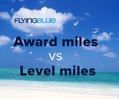 Verschil award en level miles